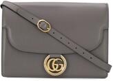 Gucci logo plaque shoulder bag