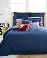 Tommy Hilfiger Full/Queen Denim Duvet Cover