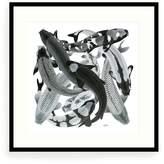 Arlette Ess Koi II Art Print Mono Negative Small