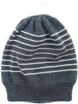 Muk Luks Striped Beanie
