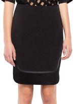 Co + Co Wool-Blend Pencil Skirt