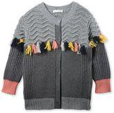 Stella McCartney eloise grey tassel cardigan