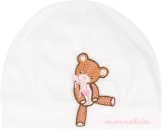 MonnaLisa Bear Logo Embroidered Hat