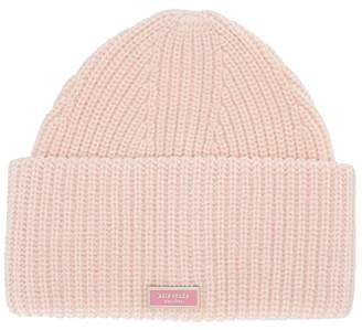 Kate Spade Label Beanie (Soft Rose) Beanies
