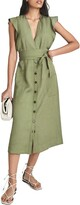 Thumbnail for your product : Reiss Emma Tie Waist Shirtdress