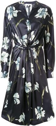 Vince Iris satin dress