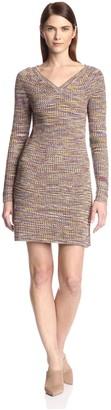 Derek Lam Women's V-Neck Sweater Dress