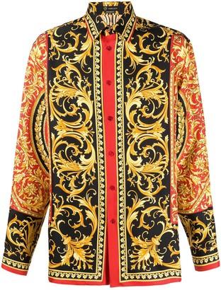 Versace Le Pop Classique printed shirt