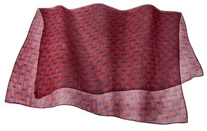Merona Printed Scarf - Red