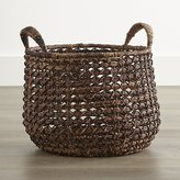 Crate & Barrel Large Zuzu Basket with Handle