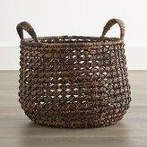 Crate & Barrel Large Zuzu Basket with Handle
