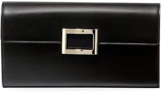 Roger Vivier Viv Envelope Flap Clutch Bag