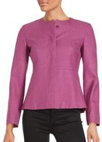 Max Mara Concealed Front Button Jacket