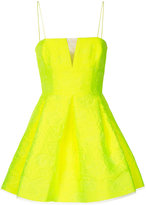 Alex Perry Drake floral brocade mini dress