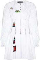 Thumbnail for your product : Chopova Lowena Daze zip-embellished pleated dress