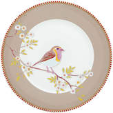 Pip Studio Early Bird 21cm Plate, Khaki