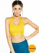 adidas TechFitTM Bra - Yellow