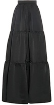 Roksanda Kidron tiered taffeta maxi skirt