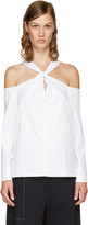 Rag & Bone White Collingwood Blouse