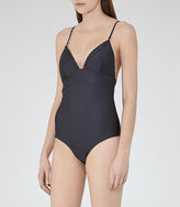 Reiss Ferreira Triangle-Top Swimsuit