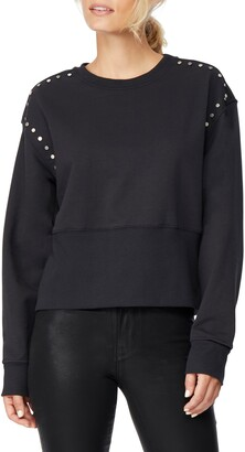 Habitual Sasha Studded Pullover Sweater