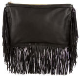 Pierre Hardy Leather Fringe Clutch