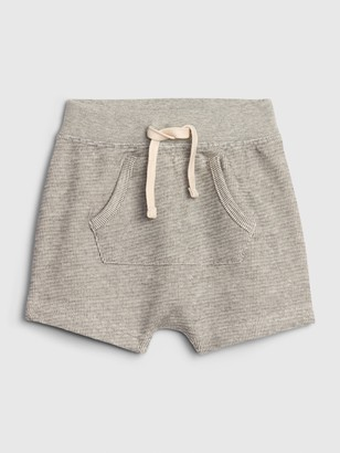 Gap Baby Kangaroo Pocket Pull-On Shorts