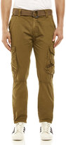 X-Ray Belted Slim Straight Cargo Pants