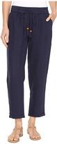 Hatley Cuffed Cotton/Linen Pants
