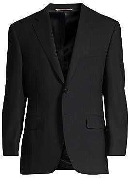Canali Men's Basic Wool Jacket