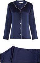 Derek Rose Bailey silk-satin pyjamas