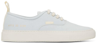 Common Projects White Nubuck Four Hole Low Sneakers