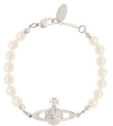 Vivienne Westwood Anglomania Mini Bas Relief Pearl Bracelet