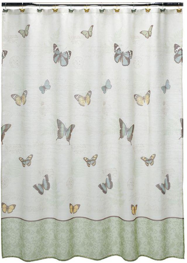 Eden Park Croft & barrow fabric shower curtain