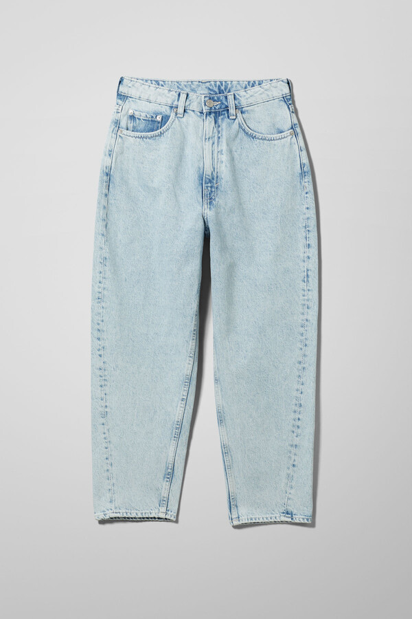 Thumbnail for your product : Weekday Meg High Mom Jeans - Black