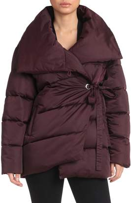 AVEC LES FILLES Water-Resistant Quilted Puffer