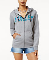 Hurley Juniors' Firing Tides Graphic Hoodie