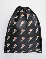 Ellesse Ellesse Logo Drawstring Backpack - Black