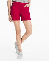 White House Black Market 5-inch Tab Waist Shorts