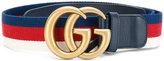 Gucci GG web-trimmed belt