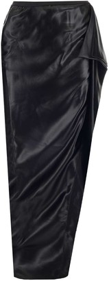 Rick Owens Open-Leg Draped Skirt