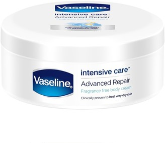 Vaseline Fragrance Free Body Cream Intensive Care Advanced Repair 250Ml