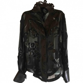Jitrois Black Leather Jackets