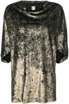Antonio Marras metallic effect T-shirt