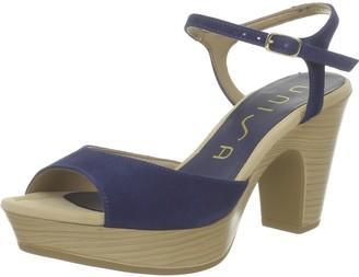 Unisa Womens Ontral 13 Ks High Heels Blue Size: 5