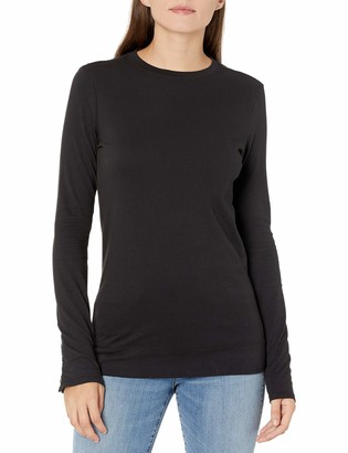 Velvet by Graham & Spencer Women's Rozalia Long Sleeve Top