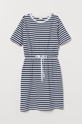 H&M Drawstring T-shirt Dress