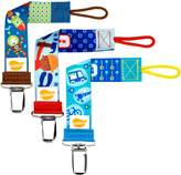 Ulubulu Combo 3 Piece Pacifier Clips, Boys Tools and Travel