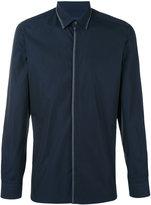 Lanvin contrast stitch shirt - men - Cotton - 40