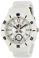 Juicy Couture Women's 1900811 Taylor White Plastic Bracelet Watch